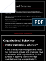 Organizational Behavior Slides