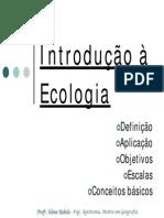 Aula 1 e 2 - Introdução Ecologia_resumo