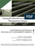 Cartas geotécnicas de susceptibilidade