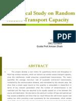 Random Access Transport Capacity