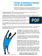 10 Simple Activities Classroom