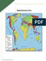 Mp2 Regioes Estruturais Da Terra