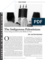 The Indigenous Palestinians_Twice Dispossessed by Biblical Texts