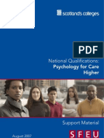Higher Care - Unit 1 - Psychology for Care