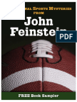 Sensational Sports Mysteries         By John Feinstein