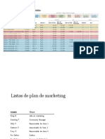 Datos Del Plan de Medios Digitales