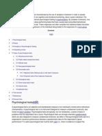 Principles of Psychological Testing
