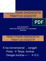 Kuliah 23 Pencitraan Diagnostik Traktus Digestif Atas