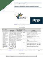 Planificacion Primer Semestre 1basico Matematica 2012