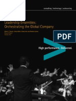 Accenture Leadership Ensembles Orchestrating Global Company