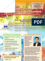 Wireless Threats & Security Assessment Workshop 2009 - PENANG