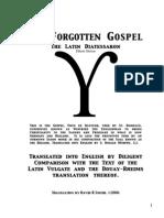 The Forgotten Gospel eBook