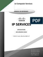 CISCO IP Services User