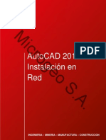 AutoCAD 2012 Instalacion Red (Salesforce)