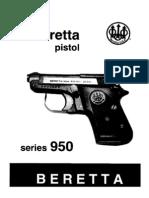 Beretta 950 Manual