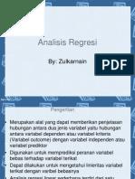 Analisis Regresi (kuliah)