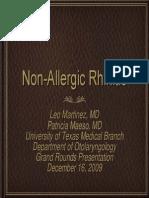 Nonallergic Rhinitis Slwides 091216