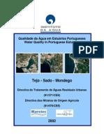 Qualidade da Água em Estuarios Portugueses.Diretivas Eu