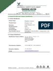 FDS Acido Fosforico
