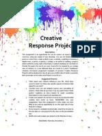 Creative Response Project