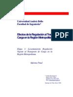 EfectosDeLaRegulacionAlTransporteDeCargaEnLaRM