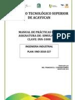 Manual de Simulacion Promodel - Copia