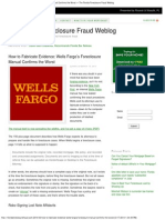 11 In Re CYNTHIA CARRSOW FRANKLIN  C O M M E N T A R Y  How to Fabricate Evidence_ Wells Fargo's Foreclosure Manual Confirms the Worst — (Homeowner DEFENSE Perspective)