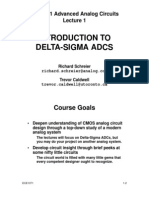 delta sigma modulator