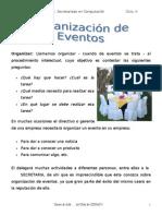 Organizacion de Eventos