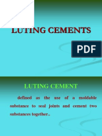 Luting Cements