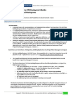 AECOsim Building Designer Deployment Guide for ProjectWise Managed Workspaces_v1.0