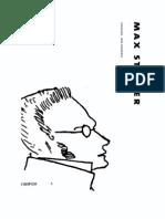 Max Stirner O Unico E Sua Propriedade