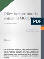 Curso Taller Introduccion a La Plataforma MOODLE
