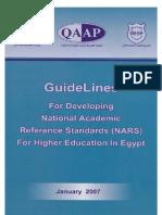 national academic standers