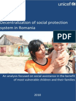 Decentralization of Social Protection in Romania (en)
