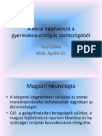 Dr Bod Maria a Korai Intervencio a Gyermekneurologus Szemszogebol
