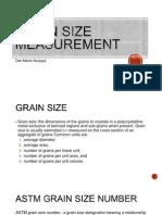 10 - Grain Size Measurement