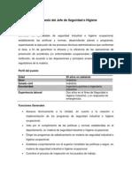 Descripción de puesto del Jefe de Seguridad e Higiene.docx