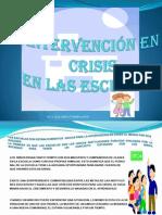 Intervencion en Crisis en Las Escuelas
