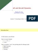 MAE462 Orbital Mechanics 3D Coordinate System Transformation Notes