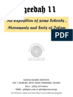 Islamic Schools, Movements and Sects