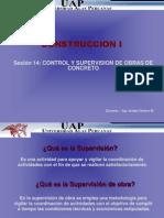 SESION 14 -Control y Supervision Obras