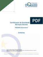 Certificacao Servicos Sociais-criterios