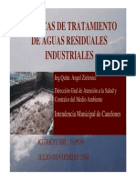 Tratamiento Aguas Residuales Industriales