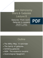 Lecture 8. Galaxies- Normal Galaxies to Quasars