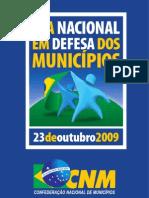 Cartilha da Mobilização dos Prefeitos (23/10/2009)