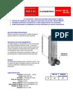 Flotametro Mb60 (Bruno Schillig)