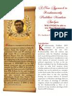 A New Approach to Krishnamurthy Paddhati Mundane Analysis