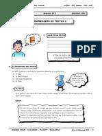 II BIM - RV - 2do. Año - Guía 3 - Comprensión de Textos I.doc