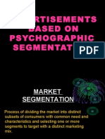 Psycho Graphic Segmentation